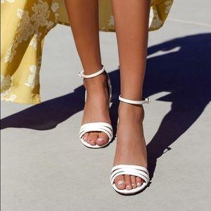 Lulus Strappy Heels